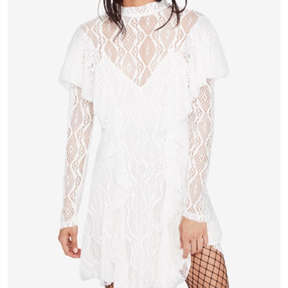 0ef3934df4 Free people rock candy lace dress NWT